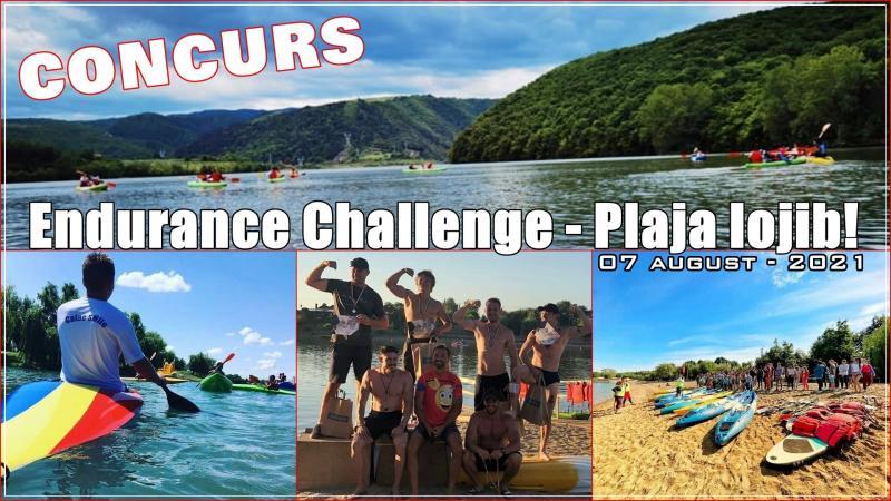 Satu Mare Concurs  Endurance Challenge la Plaja Iojib 07 august  2021 Participarea gratuita