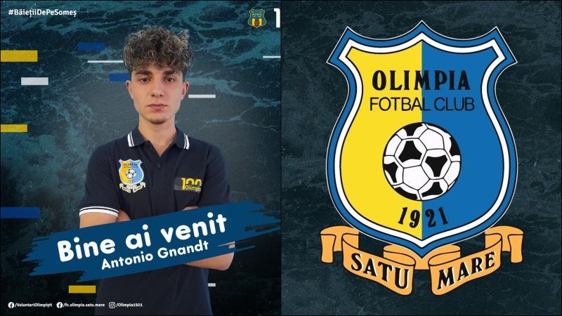 Olimpia Satu Mare transferă de la campioana CFR Cluj