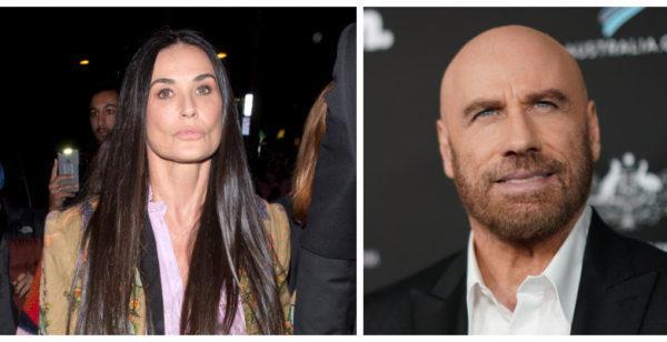 La un an de la moartea soţiei John Travolta iese cu Demi Moore