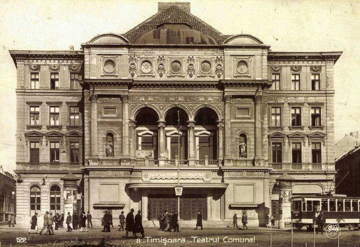 Se dezvaluie noua fatada a Operei din Timisoara dupa renovare Greseala din pricina careia ar trebui date jos si remontate mai multe placi de travertin de pe Palatul Culturii Foto