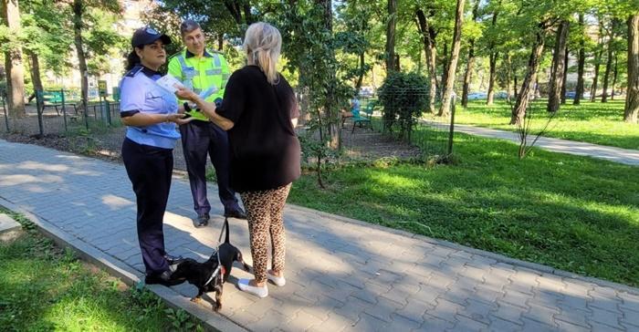 Proprietarii de caini opriti pe strada de Politia Animalelor la Timisoara 6 stapani chemati la audieri