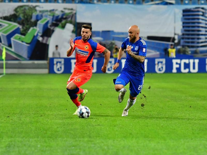 Meciul FC U Craiova  FCSB ia dezamăgit pe specialiști Foarte slabi Nici șut pe poartă nici pe lângă