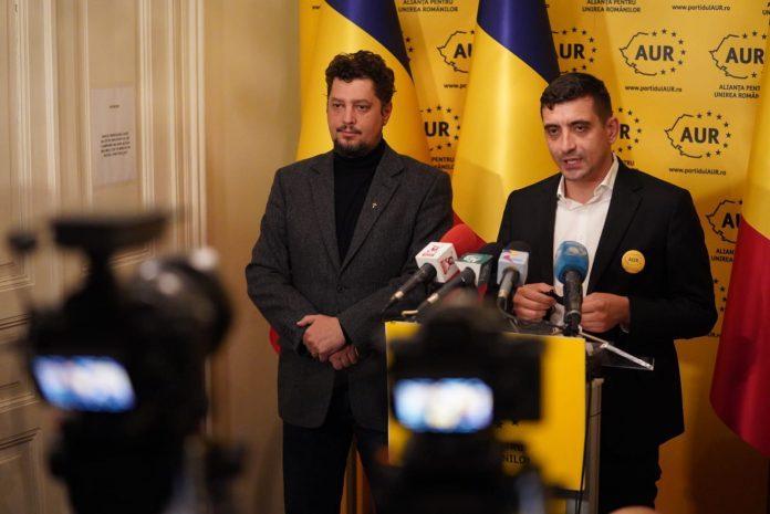 Textul moțiunii de cenzură pentru care AUR a început strângerea de semnături din 1 septembrie în prima zi a sesiunii parlamentare de toamnă