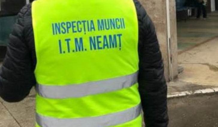 Amenzi de peste 160000 de lei aplicate de ITM Neamț în luna august
