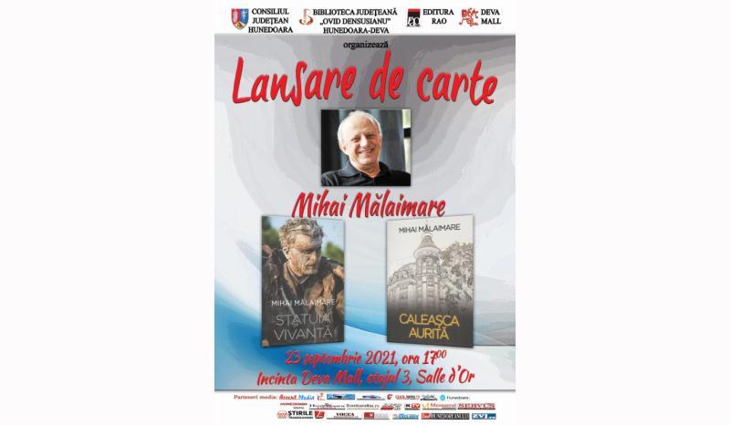 Mihai Malaimare lanseaza doua volume