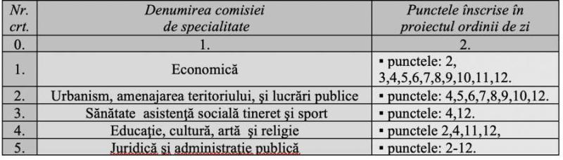 Convocare ședința extraordinară a Consiliului Județean Bacău din 21 septembrie 2021