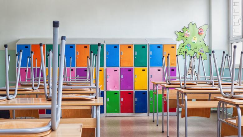 Numărul claselor închise de Covid în Argeș a ajuns la 13